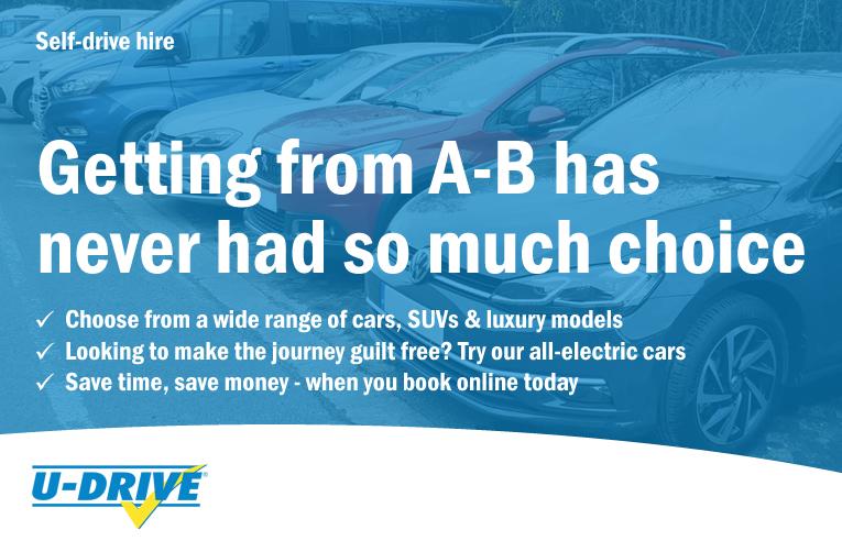 UK Van Hire, Truck Rental and Car Hire | U-Drive Ltd.